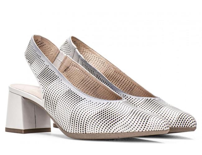 Dámske kožené perforované sandále  HISPANITAS