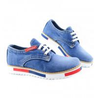 Jeansové dámske topánky 19 70040