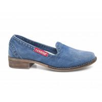 Jeansové dámske topánky 19 70039
