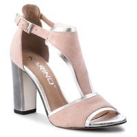 Dámske kožené sandále KARINO 19 70016