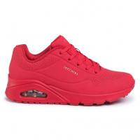 Dámska rekreačná obuv SKECHERS-Uno Stand On Air red