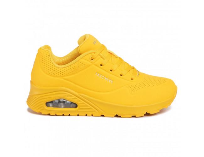 Dámska rekreačná obuv SKECHERS-Uno Stand On Air yellow
