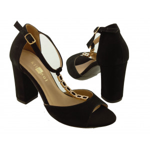 d6b8478962 Dámske kožené sandále KLIMPOL