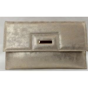 Listová kabelka zlatá 60027
