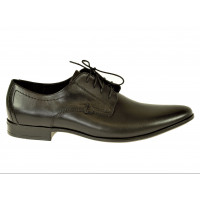 Elegantné pánske kožené topánky
