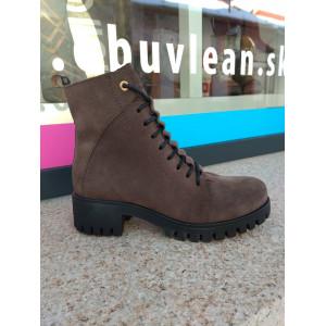 Zimné kotníkové topánky