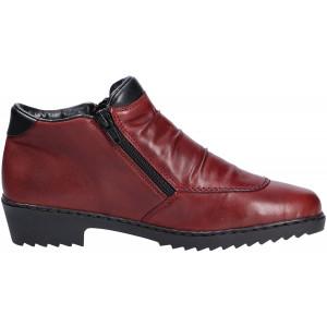 Dámske kožené topánky Rieker