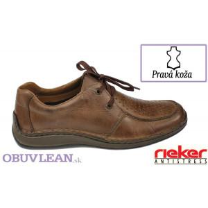 Kožené topánky Rieker 4846