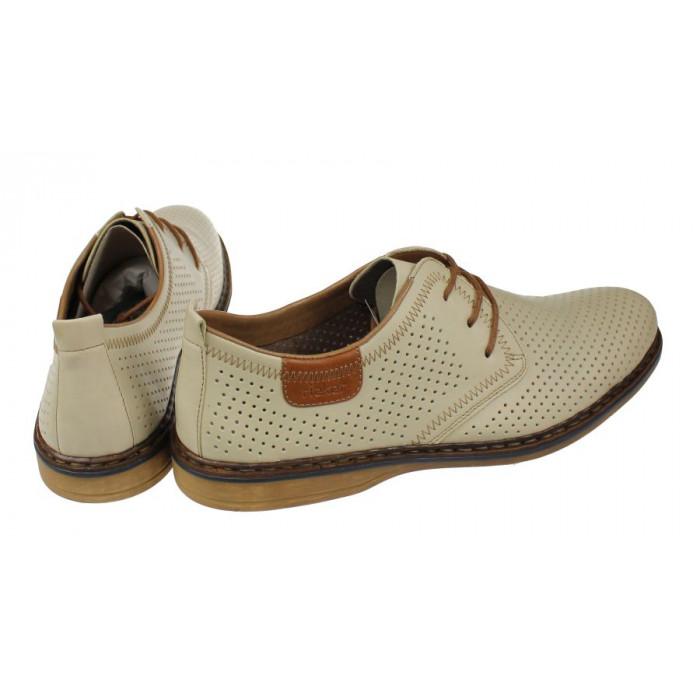 9ba45c659a0e0 Kožené vychádzkové topánky Rieker 640