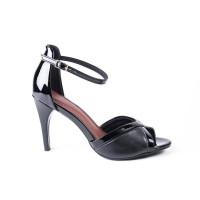 Piccadilly dámske sandále na opätku čierne