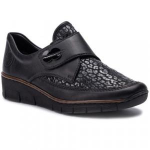 Dámske topánky Rieker čierne