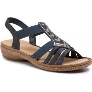 5c95ab816379 Dámske sandále RIEKER
