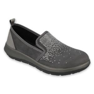Dámska pohodlná obuv s trblietkami