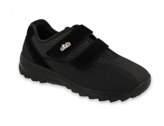 Dámska pohodlná čierna obuv