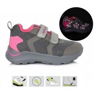 Detská kožená športová obuv D.D.step