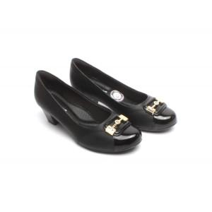 Luxusné dámske lodičky značky Piccadilly čiernej farby