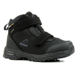 Dámske trekové topánky AMERICAN čierne