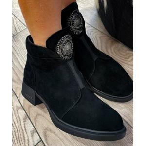 Epica čierne dámske topánky